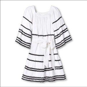 Lisa Marie Fernandez Ric Rac Flare Dress
